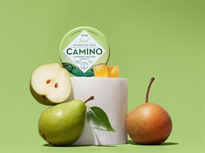 Camino Flavr edible cannabis cannabis packaging packaging illustration branding stout san francisco