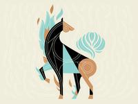 Latte Horse