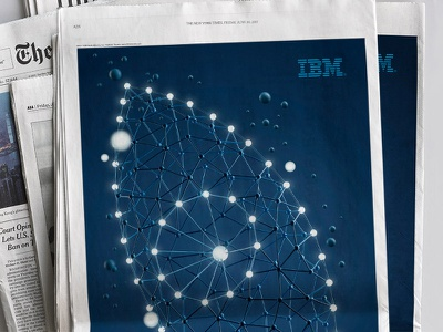 IBM Outthink Threats security dots eye campaign san francisco stout ibm