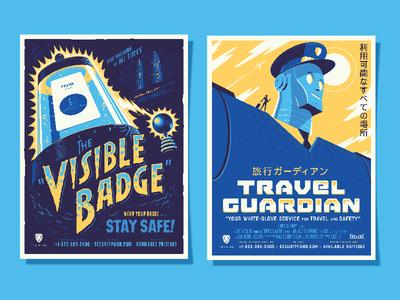 Badge & Travel