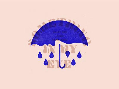 Rainy Day rainy day rain lockup logo