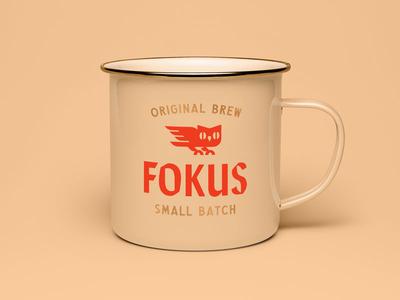 Fokus coffee bean owl san francisco branding logo coffee
