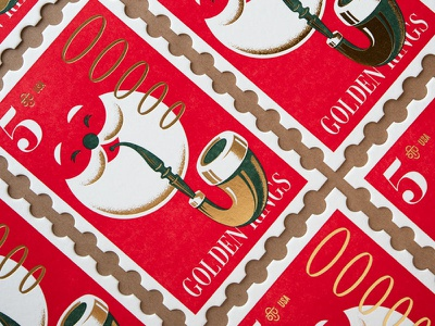 Stout Holiday Cards III typography stout san francisco illustration
