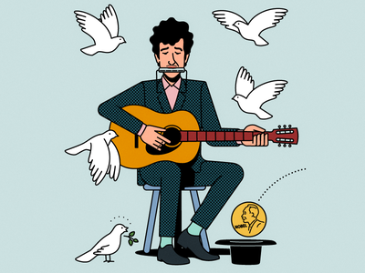 Dylan and the price bob dylan nobel price folk music