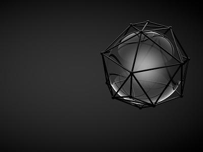3D // Sphere & Atom Array atom array cinema 4d render 3d