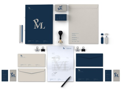 PML Lawyers [ Logo & Identity Design ]