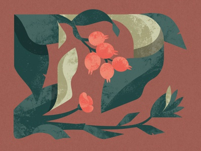 Masala Chai packaging packagingdesign botanical flower illustration floral flower