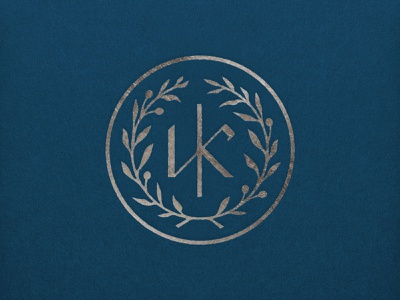 Kastra Elion greek olive crest logo monogram k
