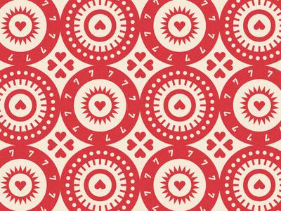 Seven of Diamonds pattern