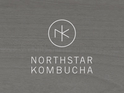 Northstar Kombucha monogram k n kombucha