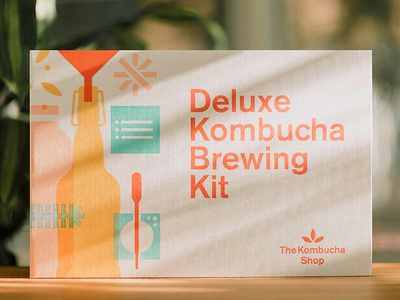 The Kombucha Shop kombucha packaging