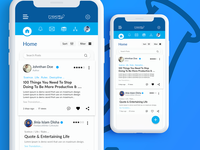 UI / UX Design for app concept