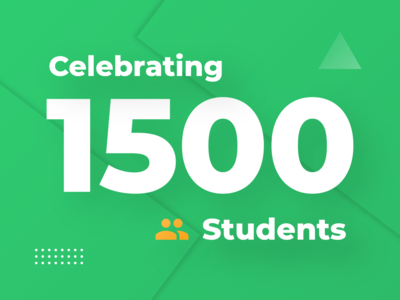 1500 Studnets! green education interface android user interface mobile iphone design ui app