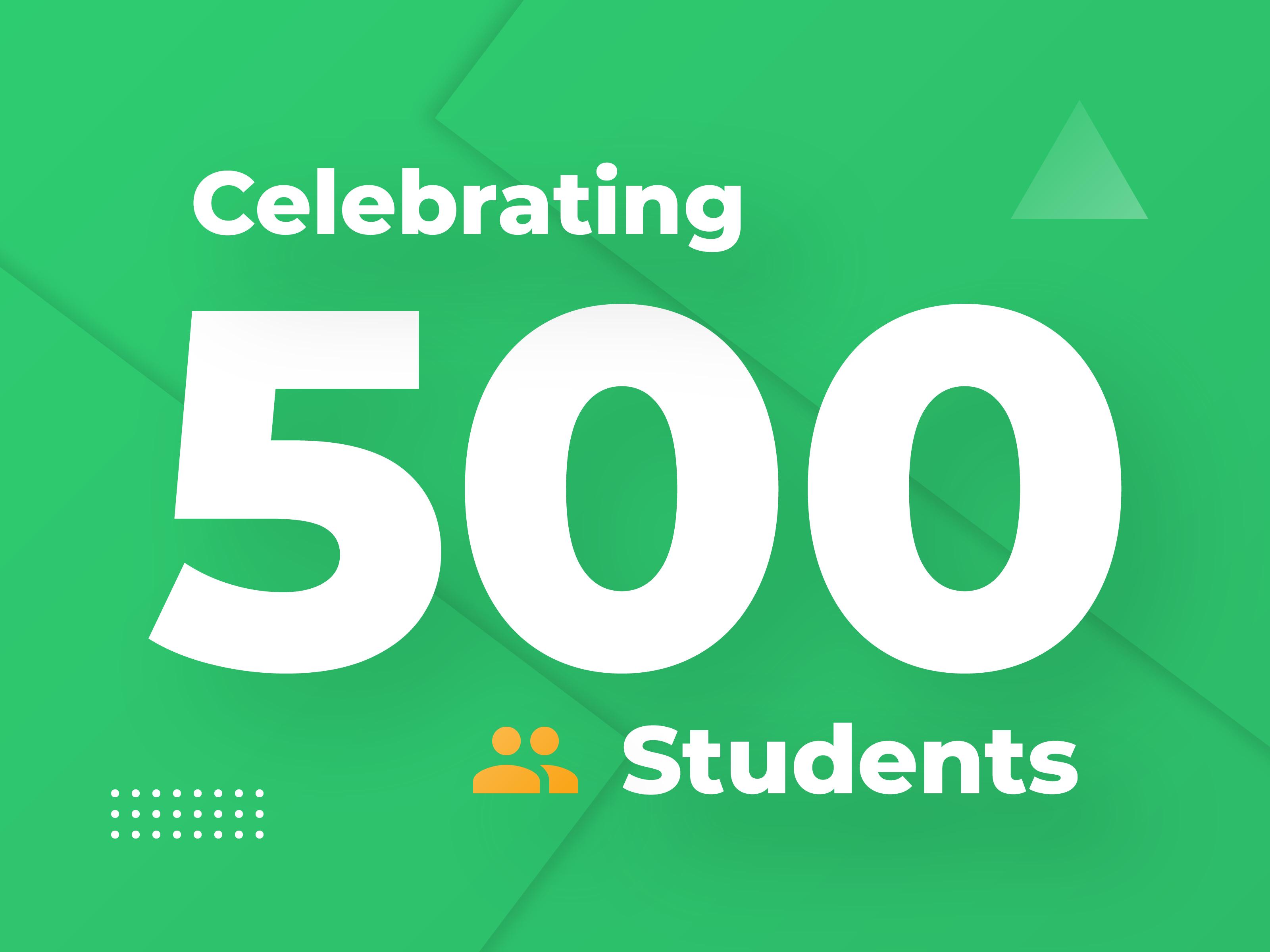 500 students 4x