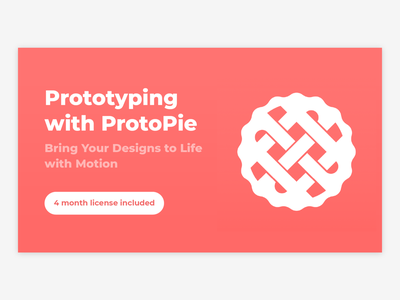 Prototyping with ProtoPie motion animated animation prototyping prototype protopie education interface android google user interface mobile material iphone design ui app