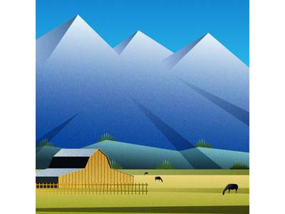 Wyoming vector illustration flat design