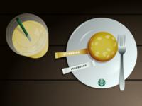 Still Life - Starbucks Table