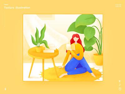 Texture illustration branding ui design illustration