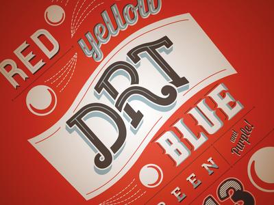 2013 DRT T-Shirt Design