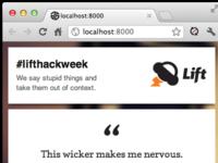 #lifthackweek