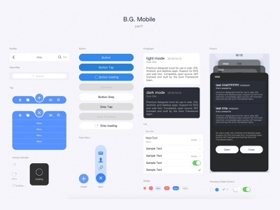 b.g. mobile mobile ui mobile ui app