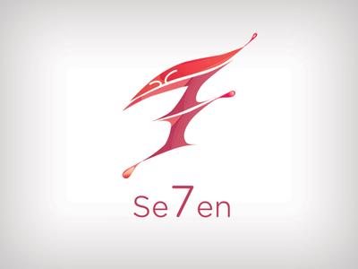 7 logo design typography branding vector logo