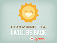 Dear Minnesota