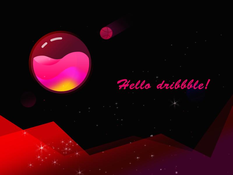 星空球 插画 app