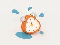 Sweating Little Clock