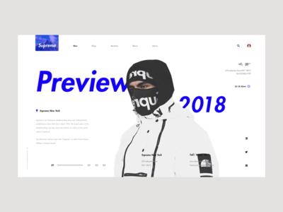 Supreme Preview 2018 face north the trend invites web preview supreme