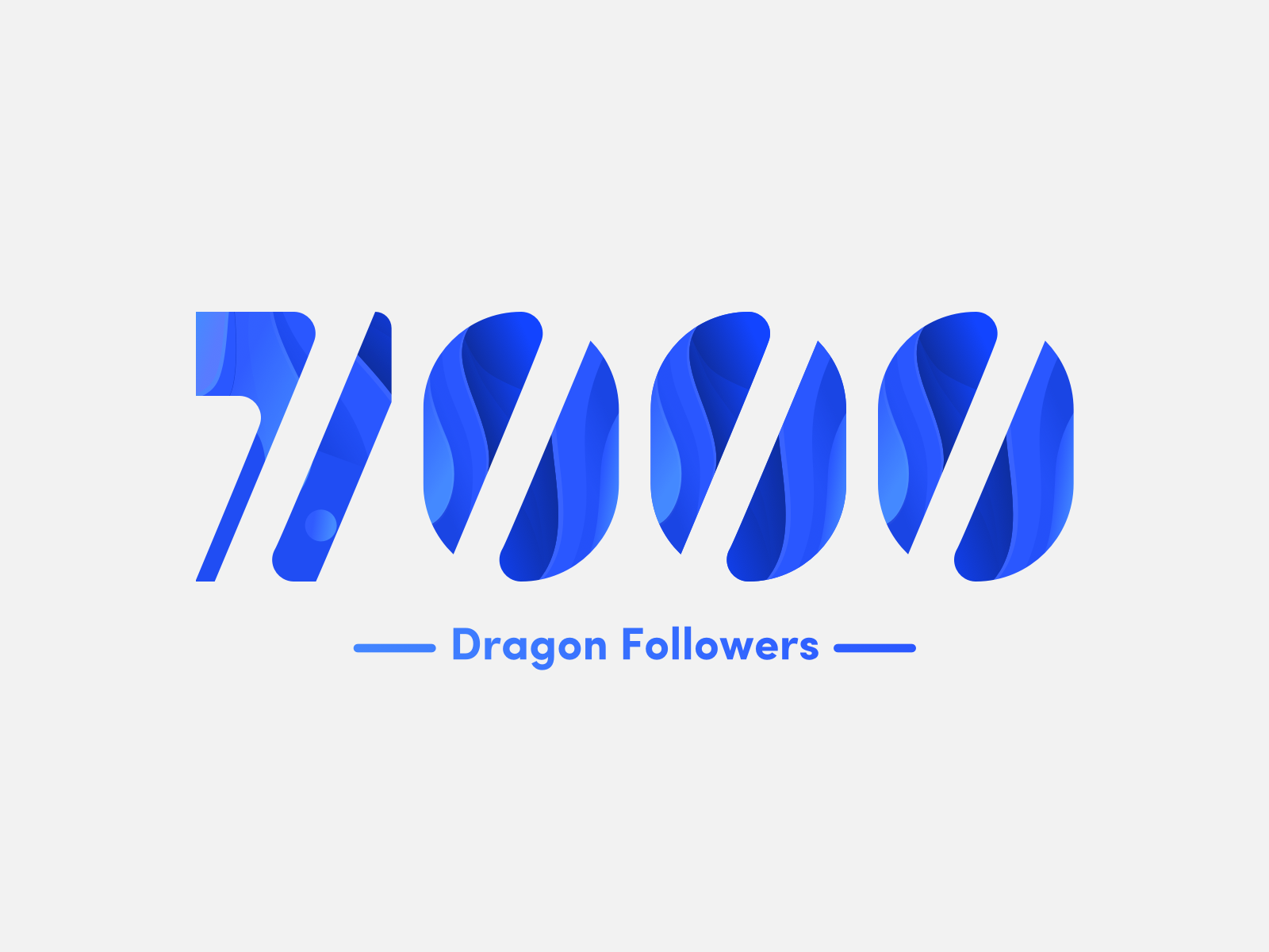 7000 followers