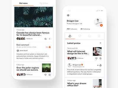 Panda News knowledge base new icon app ue ui