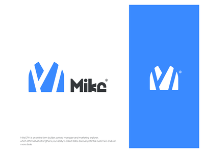 mike logo logo icon mike