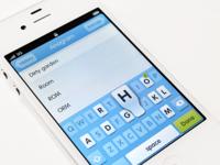 iOS UI Design for Anagram
