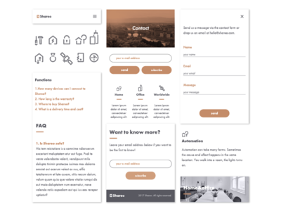 Shareo UI Kit uikit icons logo identity id branding mobile graphics design ui
