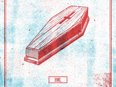 End coffin