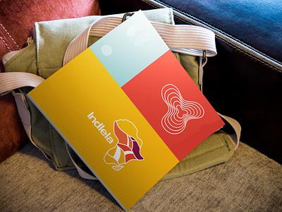 Indela - Brand Development design art direction vector branding illustration graphicdesign colour palette yellow orange zulu logo african map african africa logo