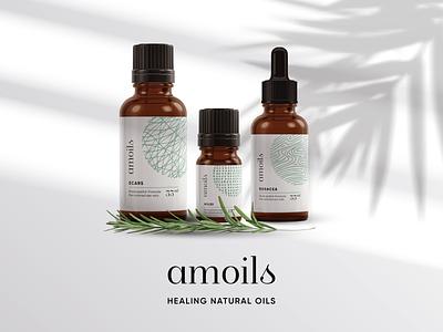 Amoils Branding & Packaging Refresh