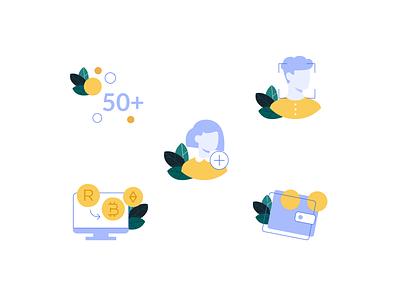 Crypto Illustrations