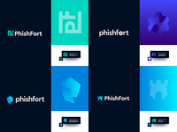 PhishFort Logo Explorations