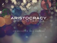 Aristocracy Lookbook   1
