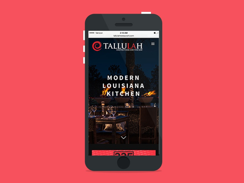 Dribbble   tallulah   mobile