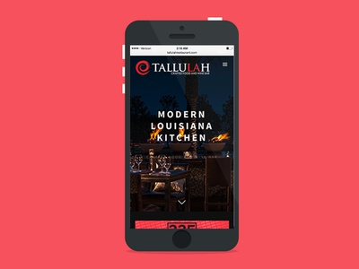 Tallulah - Mobile Site