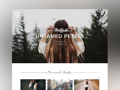 Bethany Marie Website Redesign