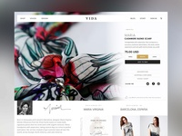 VIDA - Product Page