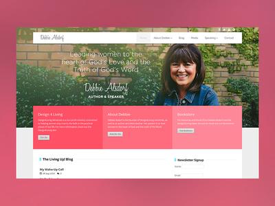 Debbie Alsdorf Site Design