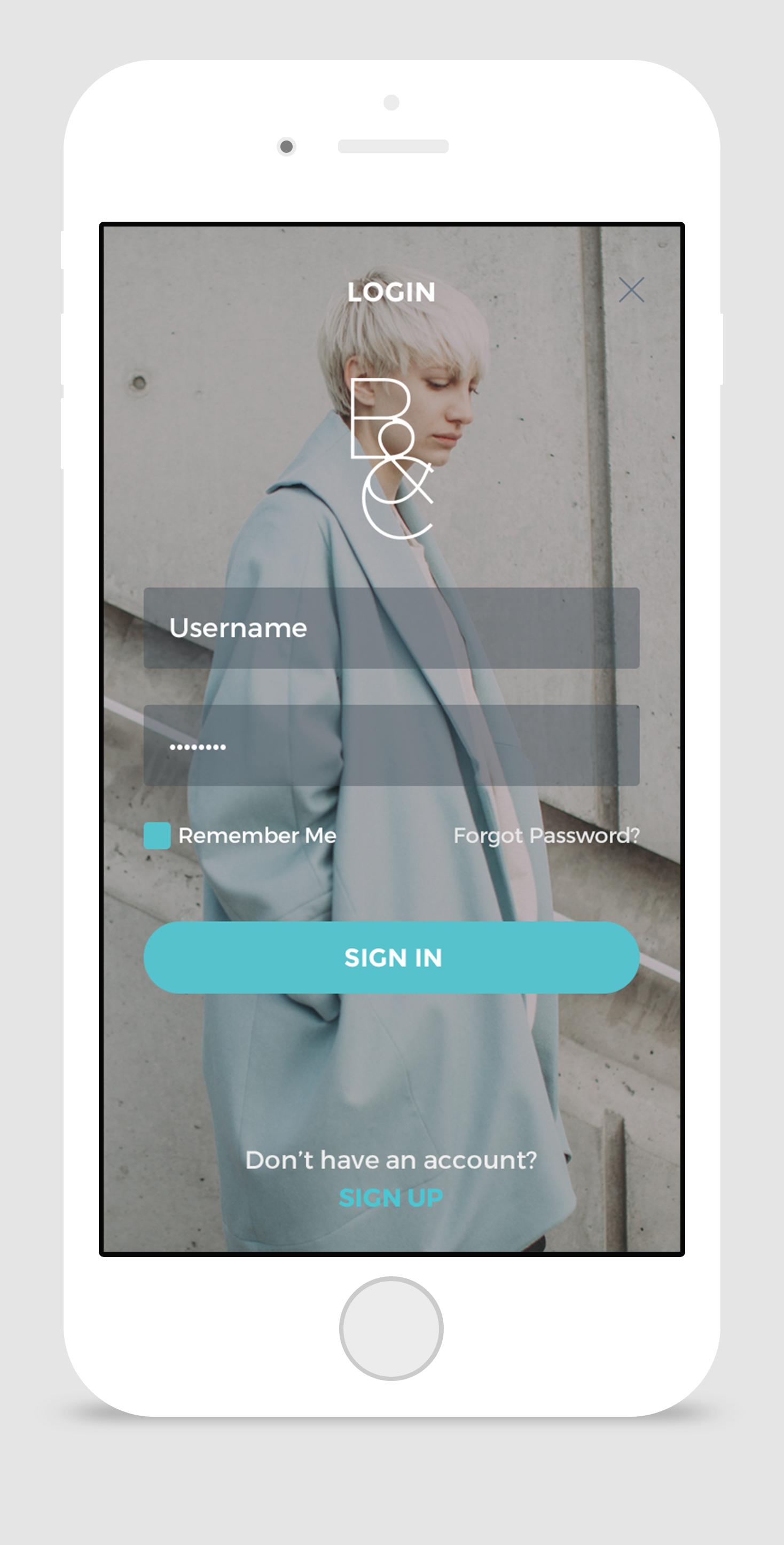 App   log in