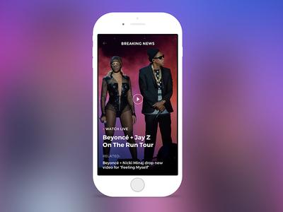 Billboard.com - App Concept
