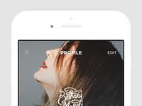 Iphone   ig profile