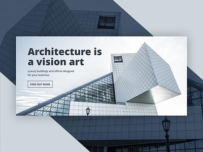 Web Architecture Slide typography ui architecture webdesign web website header slide